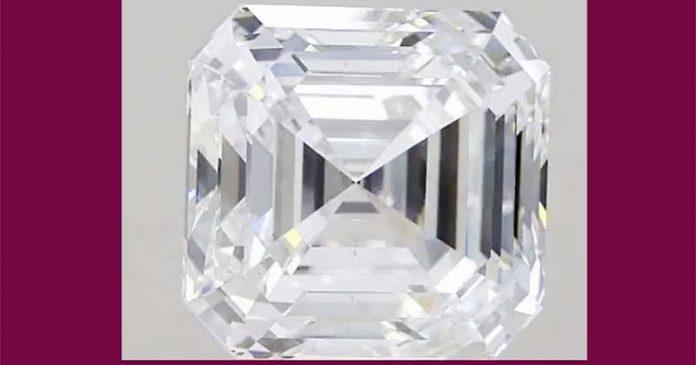 Laboratory Grown Diamond 'Freedom of India' 14.6 CT.